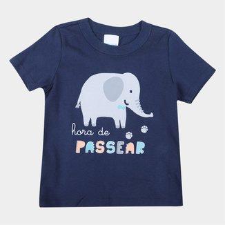 Camiseta Infantil Malwee Estampada Masculina
