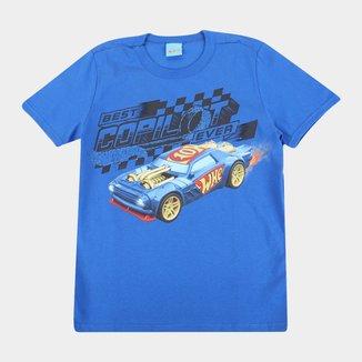 Camiseta Infantil Malwee Hot Wheels Masculina