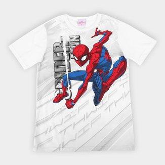 Camiseta Infantil Marvel Homem-Aranha Masculina