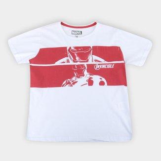 Camiseta Infantil Marvel Iron Man Masculina