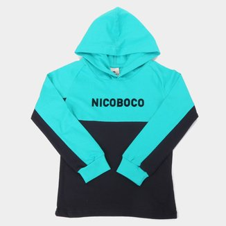 Camiseta Infantil Nicoboco Raglan Loei Manga Longa Masculina