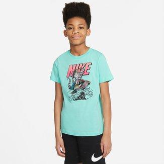 Camiseta Infantil Nike B NSW Tee Beach Nike Block