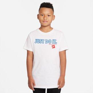 Camiseta Infantil Nike B Nsw Tee Jdi C/S Masculina