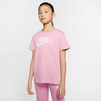 Camiseta Infantil Nike Tee Basic Manga Curta