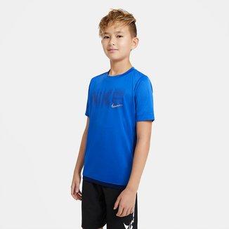 Camiseta Infantil Nike Trophy Gfx Manga Curta Masculina