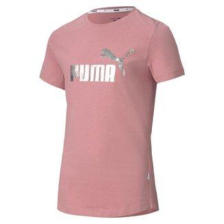Camiseta Infantil Puma ESS+ Tee Feminino