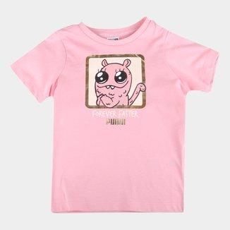 Camiseta Infantil Puma Monster