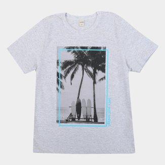 Camiseta Infantil Rovitex Surf Today Masculina