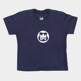 Camiseta Infantil Santos King