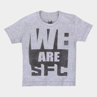 Camiseta Infantil Santos We Are SFC