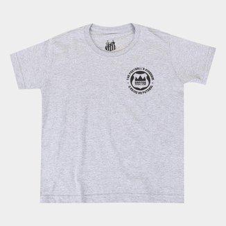 Camiseta Infantil Santos