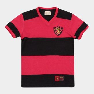 Camiseta Infantil Sport Recife Retro Mania 1987
