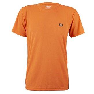 Camiseta Infantil Training III Laranja - Wilson