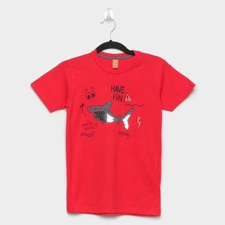 Camiseta Infantil Up Baby Paetê Reversível Masculina