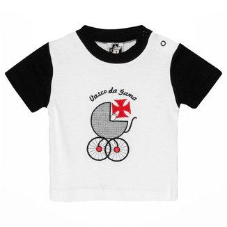 Camiseta Infantil Vasco da Gama Carrinho Bebê