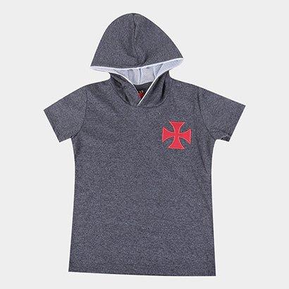 Camiseta Infantil Vasco Journey Capuz