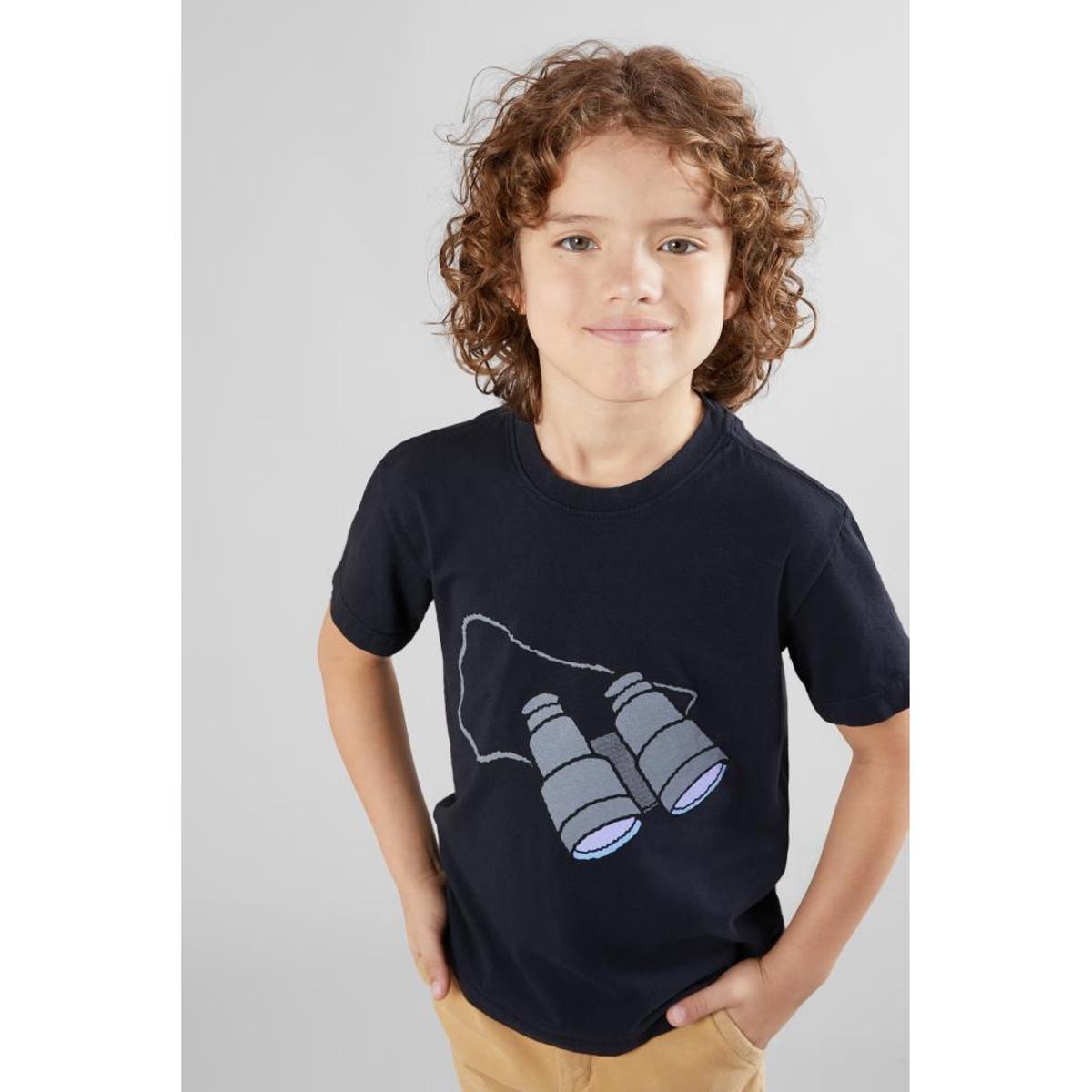 9c047d6dab Camiseta Infantil Wally Binoculos Reserva Mini Masculina - Compre Agora