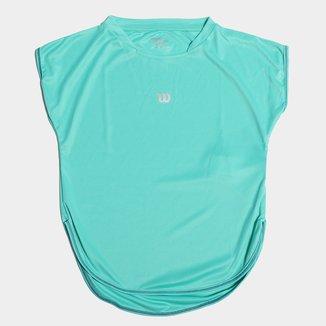 Camiseta Infantil Wilson Clube Feminina