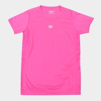 Camiseta Infantil Wilson Core Feminina