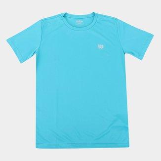 Camiseta Infantil Wilson Core Masculina