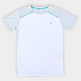 Camiseta Infantil Wilson Tour III Masculina