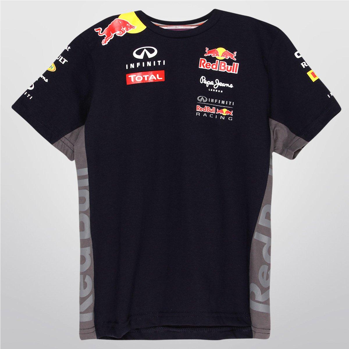 Camiseta Infiniti Red Bull Racing Teamwear 2015 Infantil - Compre Agora  c3dc079db96