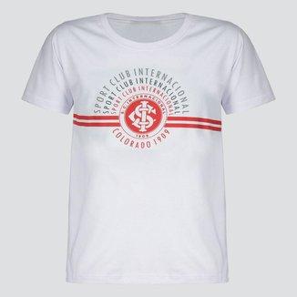 Camiseta Internacional Arcos Juvenil Branca