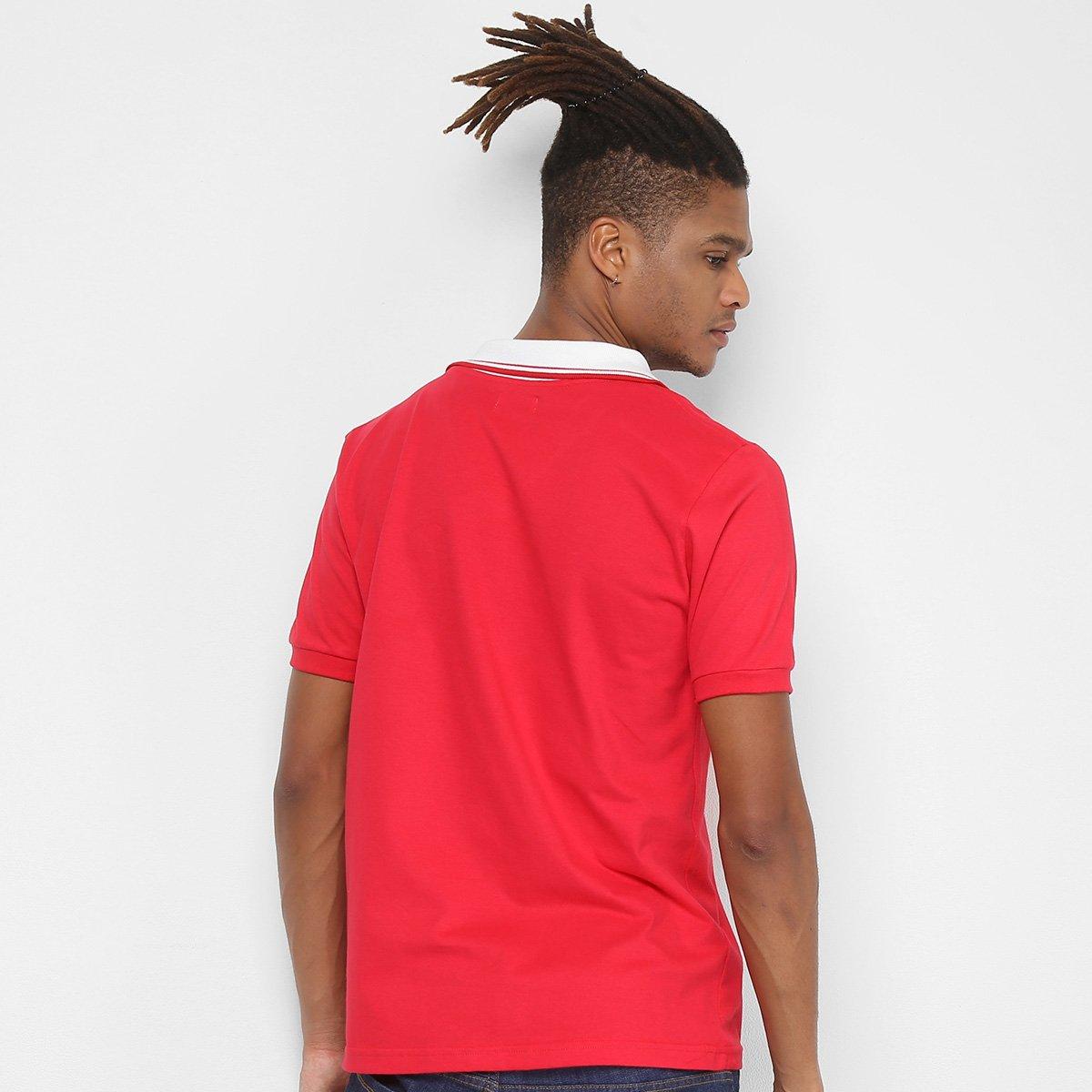 7e0bce55f63 Camiseta Internacional Retrô Mania 1992 Masculina - Vermelho ...