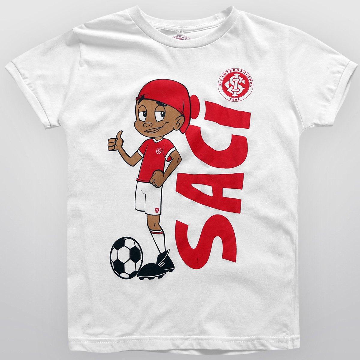 b7e783213f5 Camiseta Internacional Saci Juvenil - Compre Agora