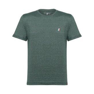 Camiseta Italian Flag fiatwear Verde Mescla