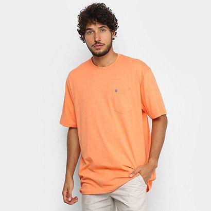 Camiseta Izod Saltwater Bolso Masculina - Masculino