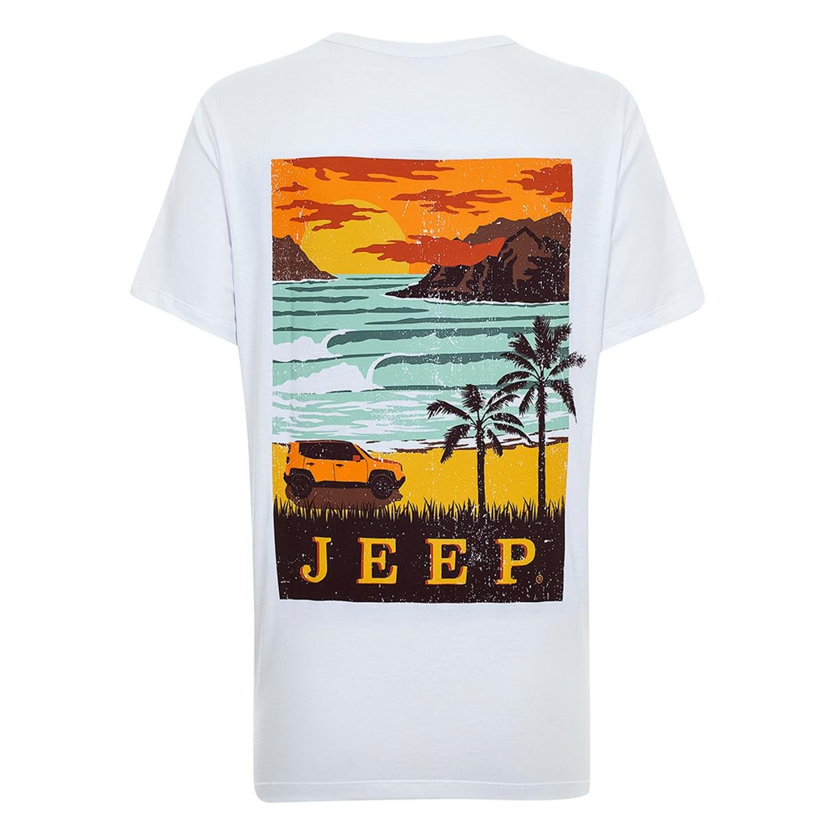 25b74c216a Camiseta JEEP Renegade Surf Feminina  Camiseta JEEP Renegade Surf Feminina  ...