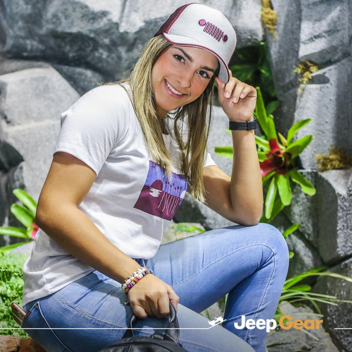 acaddadf75 Camiseta JEEP Renegade View Feminina - Branco - Compre Agora