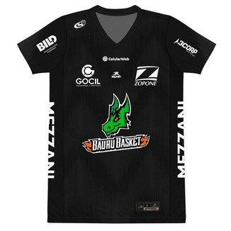 Camiseta Jogo Bauru Basket - Paulista 2020 - Masculino - Muvin - BBK-1800