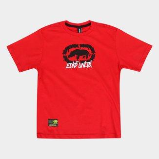 Camiseta Juvenil Ecko Logo K672A Masculina