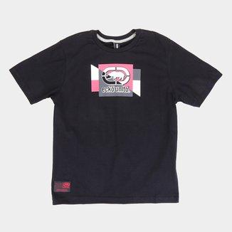 Camiseta Juvenil Ecko Logo K673A Masculina