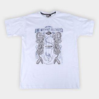 Camiseta Juvenil HD Mermaid's Hell Masculina