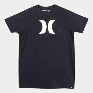 Camiseta Juvenil Hurley Icon Masculina