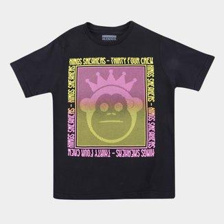 Camiseta Juvenil Kings Fourcrew Masculina