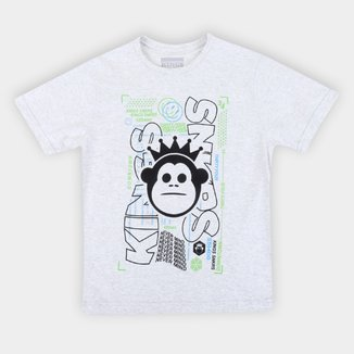 Camiseta Juvenil Kings Niver Mind Masculina