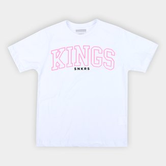 Camiseta Juvenil Kings Snkrs Assinatura Masculina