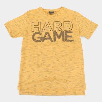 Camiseta Juvenil Lemon Hard Game Masculina