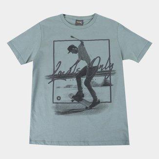 Camiseta Juvenil Lemon Locals Only Masculina