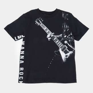 Camiseta Juvenil Lemon Rock Masculina