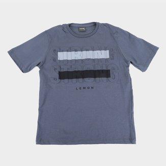 Camiseta Juvenil Lemon Strong Masculina