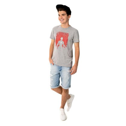 Camiseta Juvenil Masculina Homem Aranha - AZUL MARINHO - 16