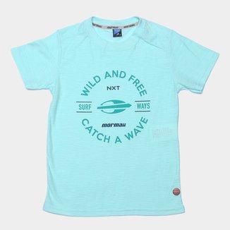 Camiseta Juvenil Mormaii Catch a Wave Masculino
