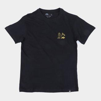 Camiseta Juvenil Natural Art Aloha