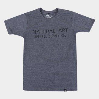 Camiseta Juvenil Natural Art Appareal