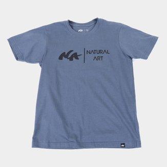 Camiseta Juvenil Natural Art Logo II